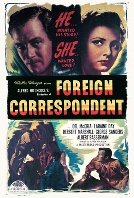 Foreign Correspondent movie poster (1940) poster MOV_8aa5409d