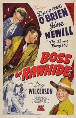 Boss of Rawhide movie poster (1943) poster MOV_8ab07635