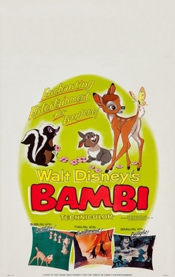 Bambi movie poster (1942) poster MOV_8ab5975e