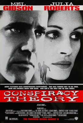 Conspiracy Theory movie poster (1997) poster MOV_8aca4359