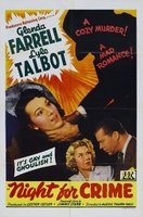 A Night for Crime movie poster (1943) picture MOV_98103829