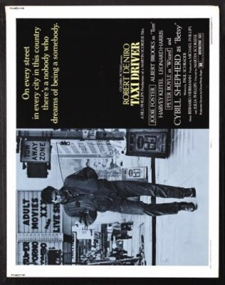 Taxi Driver movie poster (1976) poster MOV_8ad5821e