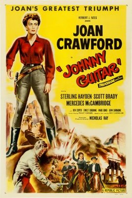 Johnny Guitar movie poster (1954) poster MOV_8ae96562
