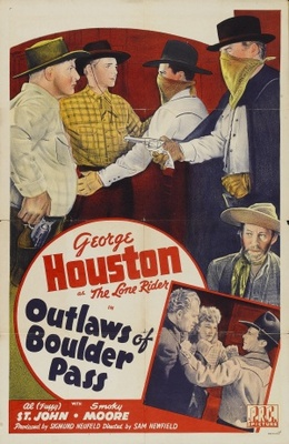 Outlaws of Boulder Pass movie poster (1942) poster MOV_8afa61a7