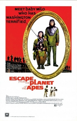Escape from the Planet of the Apes movie poster (1971) poster MOV_8afec024