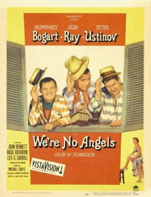 We're No Angels movie poster (1955) poster MOV_8b1f6fa9