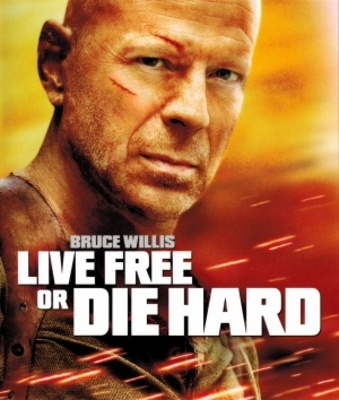 Live Free or Die Hard movie poster (2007) poster MOV_8b26152a