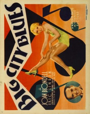 Big City Blues movie poster (1932) poster MOV_8b3a8c7a
