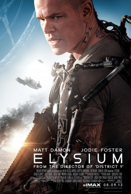 Elysium movie poster (2013) poster MOV_8b3c9f77