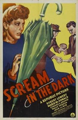 A Scream in the Dark movie poster (1943) poster MOV_8b3cdba3