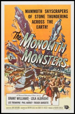 The Monolith Monsters movie poster (1957) poster MOV_8b4eec15
