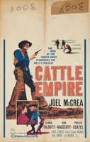Cattle Empire movie poster (1958) picture MOV_8b4fe827