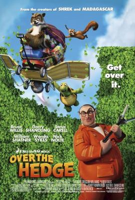 Over The Hedge movie poster (2006) poster MOV_8b51ecbe