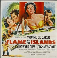 Flame of the Islands movie poster (1955) picture MOV_8b606532