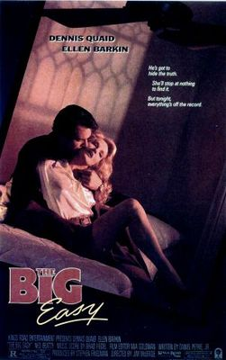 The Big Easy movie poster (1987) poster MOV_8b8774d2