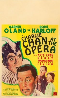Charlie Chan at the Opera movie poster (1936) poster MOV_8b931ac4