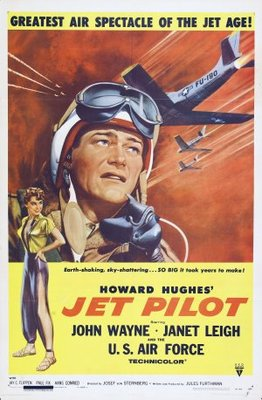 Jet Pilot movie poster (1957) poster MOV_8b9d3528