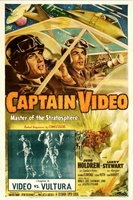 Captain Video, Master of the Stratosphere movie poster (1951) picture MOV_8ba30f35