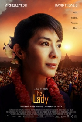 The Lady movie poster (2011) poster MOV_8bb0bf6b