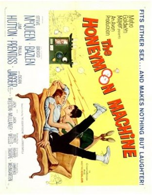 The Honeymoon Machine movie poster (1961) poster MOV_8bbb7f02
