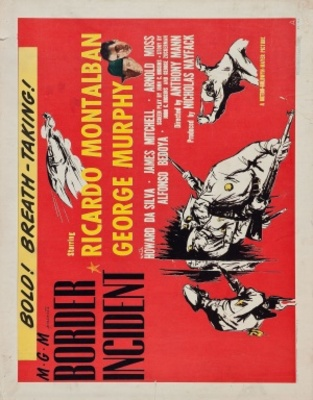 Border Incident movie poster (1949) poster MOV_8bc970c5