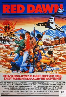 Red Dawn movie poster (1984) poster MOV_8be4c80c