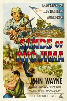 Sands of Iwo Jima movie poster (1949) poster MOV_8bfac2ed