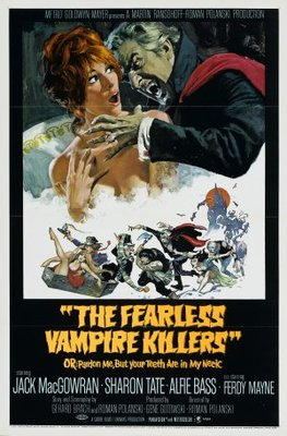 The Fearless Vampire Killers movie poster (1967) poster MOV_8c19d53a