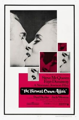 The Thomas Crown Affair movie poster (1968) poster MOV_8c2da743