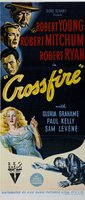 Crossfire movie poster (1947) picture MOV_8c2fd932