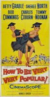How to Be Very, Very Popular movie poster (1955) picture MOV_8c3c9e7a