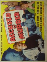 Accused of Murder movie poster (1956) picture MOV_8c5f5389