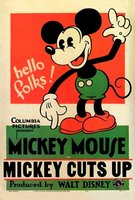 Mickey Cuts Up movie poster (1931) picture MOV_8c6d5fdb