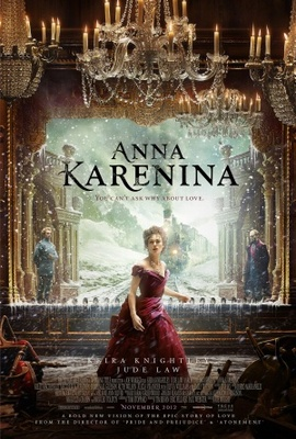 Anna Karenina movie poster (2012) poster MOV_8c741337