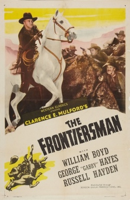 The Frontiersmen movie poster (1938) poster MOV_8c7ecc9b