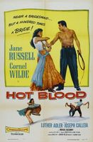 Hot Blood movie poster (1956) picture MOV_8c85506d