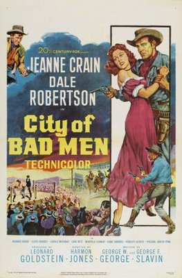 City of Bad Men movie poster (1953) poster MOV_8c939db4