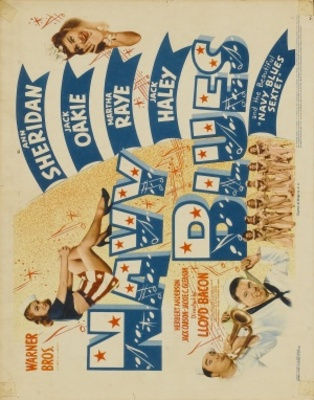 Navy Blues movie poster (1941) poster MOV_8c972911