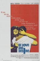Of Love and Desire movie poster (1963) picture MOV_8c9d5f3b