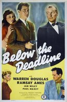 Below the Deadline movie poster (1946) picture MOV_8ca03b18