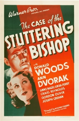 The Case of the Stuttering Bishop movie poster (1937) poster MOV_8cbc85d7