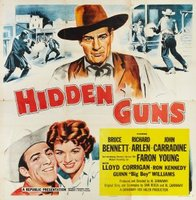 Hidden Guns movie poster (1956) picture MOV_8cc985d5