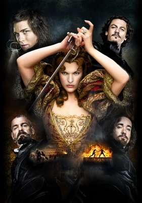 The Three Musketeers movie poster (2011) poster MOV_8ccbeffe