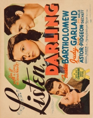Listen, Darling movie poster (1938) poster MOV_8ccfd2c8