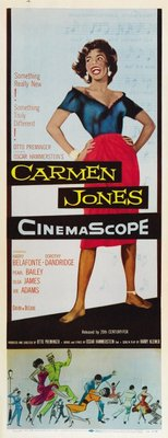 Carmen Jones movie poster (1954) poster MOV_8cd8d30a