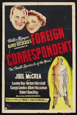 Foreign Correspondent movie poster (1940) poster MOV_8ce2713f