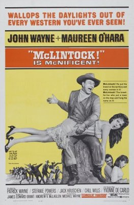 McLintock! movie poster (1963) poster MOV_8cfba379