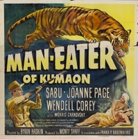 Man-Eater of Kumaon movie poster (1948) picture MOV_8d11ea55