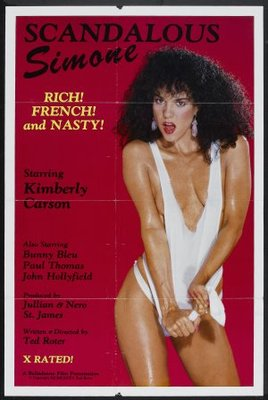 Scandalous Simone movie poster (1985) poster MOV_8d2219af