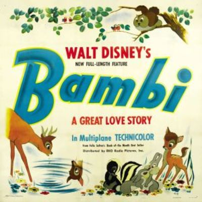 Bambi movie poster (1942) Poster. Buy Bambi movie poster ...